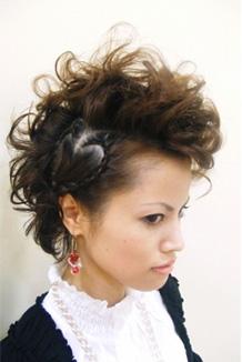 ガーリー リーゼント【Hair Mode 入賞作品】